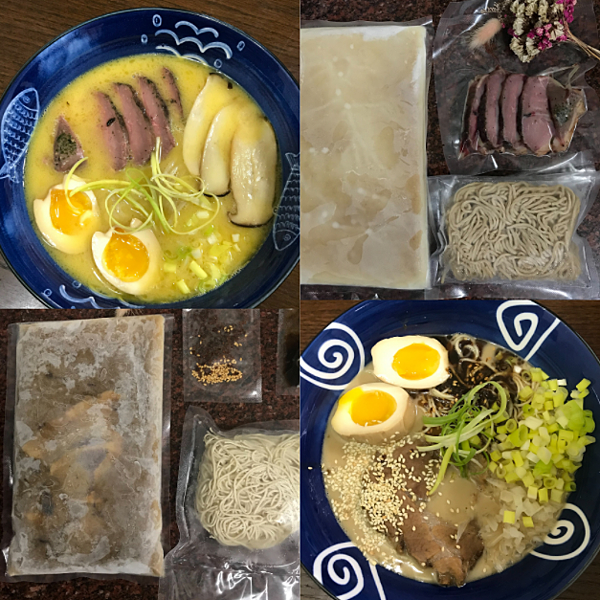 拉麵 麵魂家 濃厚豚骨拉麵/鹽味魚介薩索雞白湯 宅配冷凍快煮包