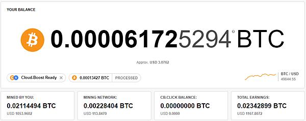 (2021.09更新)CryptoTab Browser 網路賺錢 被動收入教學 出金累積0.02114494 BTC