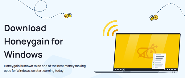 Honeygain|新增iOS 手機版 網路賺錢 Start earning today