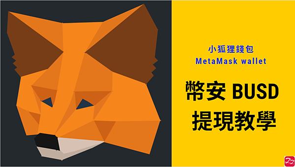 Metamask|教學 透過幣安(Binance) 發送 BUSD 到 Metamask錢包