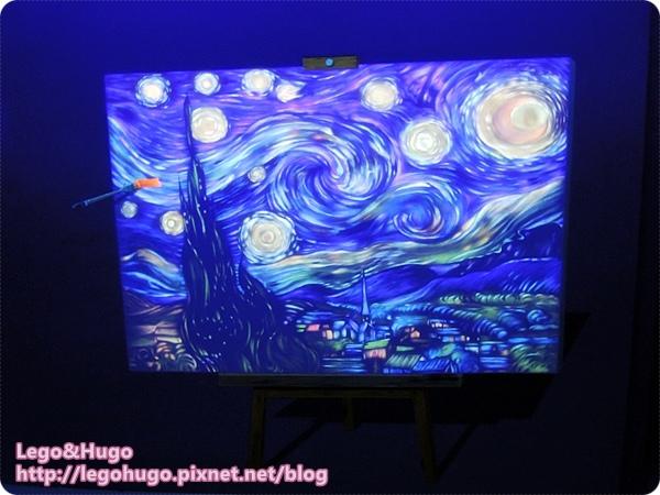 夜光3D藝術展