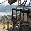 千光寺纜車有兩種...一個是櫻花號...一個是海鷗號
