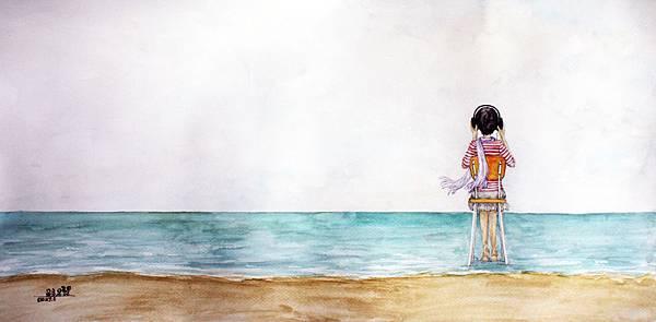 跟著音樂來到海邊s