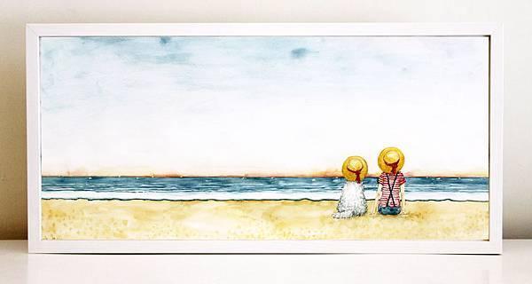 夏日海邊 阿毛的陪伴.jpg