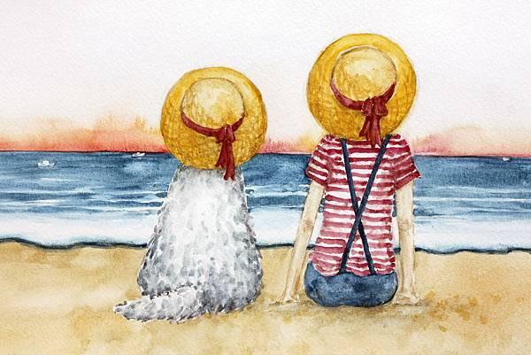 夏日海邊 阿毛的陪伴1.jpg