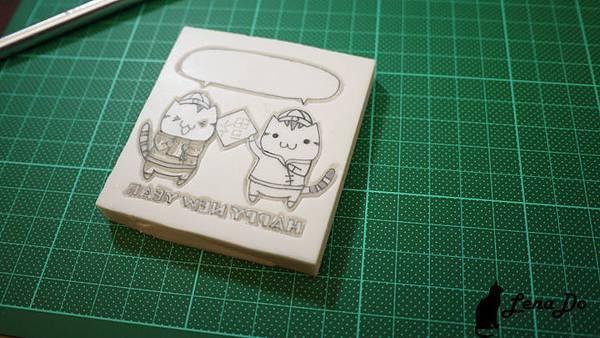 2012賀年卡製作過程