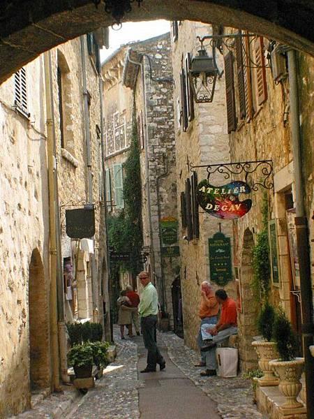 藝術村內街道