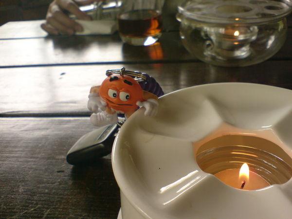用來煮伯爵茶的火
