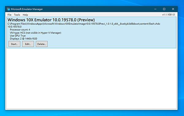 Windows 10X 安裝完成.PNG