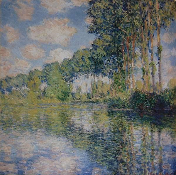艾普特河岸的白楊樹