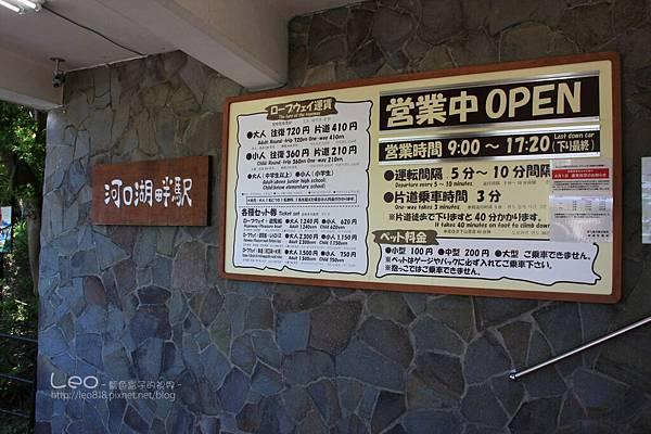 天上山公園眺望富士山與河口湖 (6)