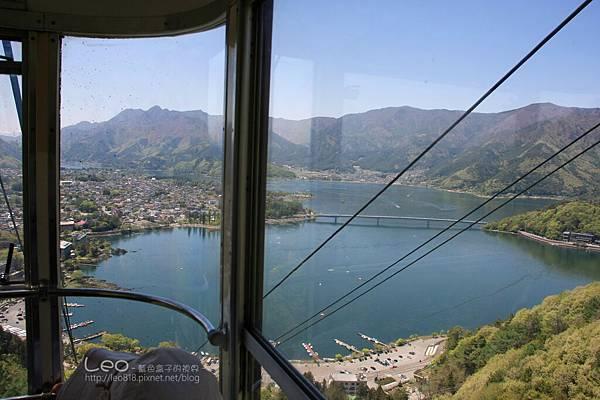 天上山公園眺望富士山與河口湖 (12)