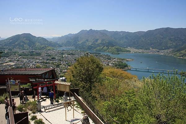 天上山公園眺望富士山與河口湖 (16-1)