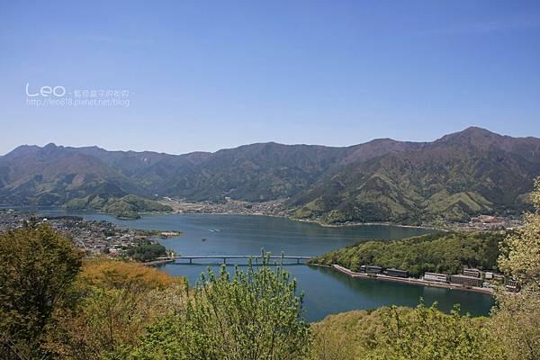 天上山公園眺望富士山與河口湖 (17)