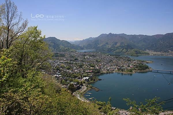 天上山公園眺望富士山與河口湖 (17-1)