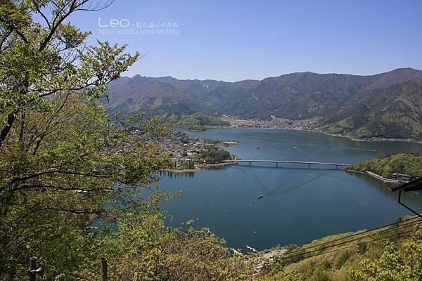 天上山公園眺望富士山與河口湖 (17-2)