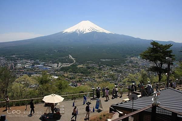 天上山公園眺望富士山與河口湖 (18)