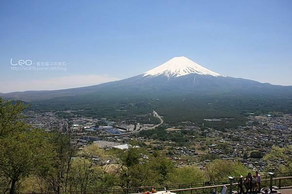 天上山公園眺望富士山與河口湖 (19)