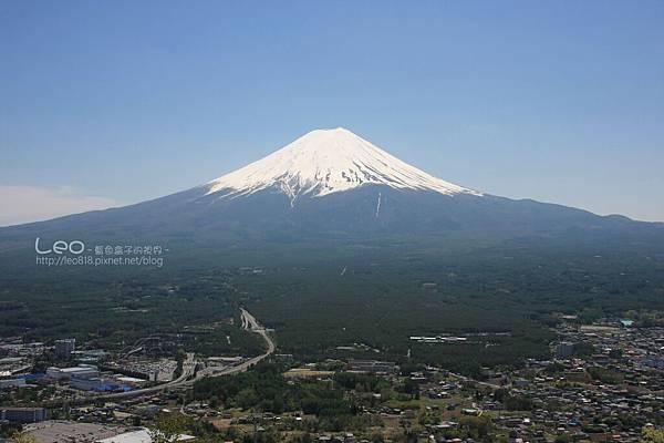 天上山公園眺望富士山與河口湖 (21)