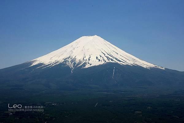 天上山公園眺望富士山與河口湖 (22)