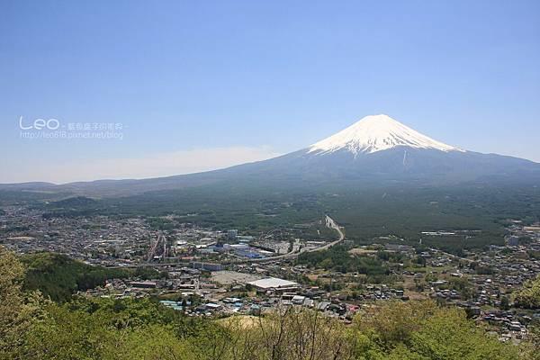 天上山公園眺望富士山與河口湖 (23)