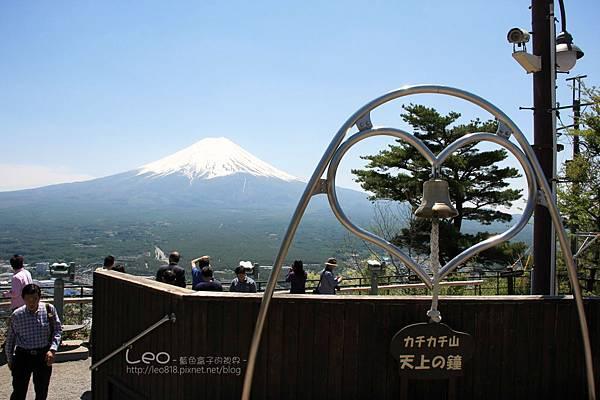 天上山公園眺望富士山與河口湖 (25)