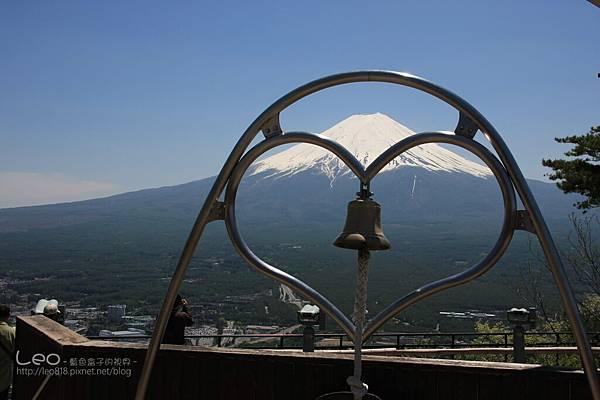 天上山公園眺望富士山與河口湖 (26)