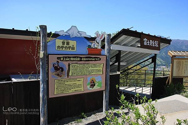 天上山公園眺望富士山與河口湖 (28)