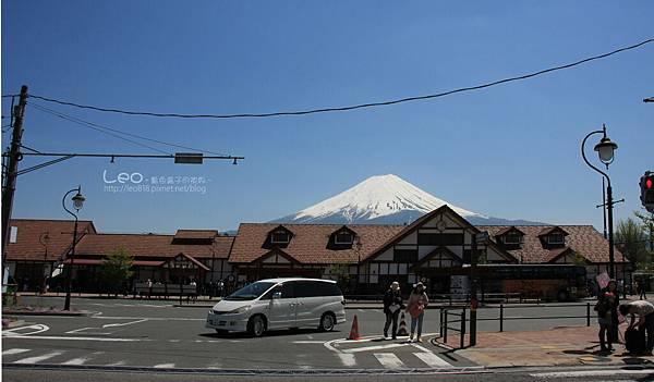 天上山公園眺望富士山與河口湖 (31-1)