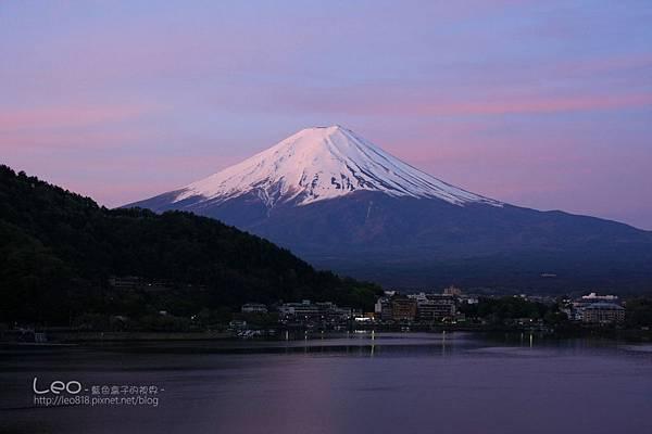 河口湖‧逆富士山 (3)