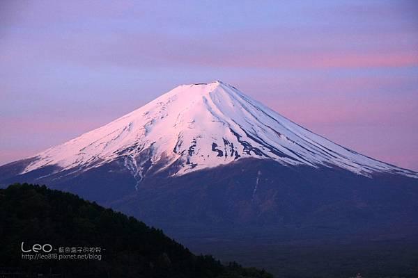 河口湖‧逆富士山 (4)