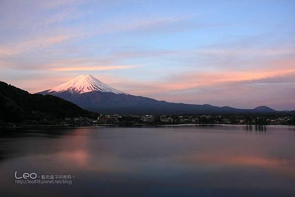 河口湖‧逆富士山 (7)