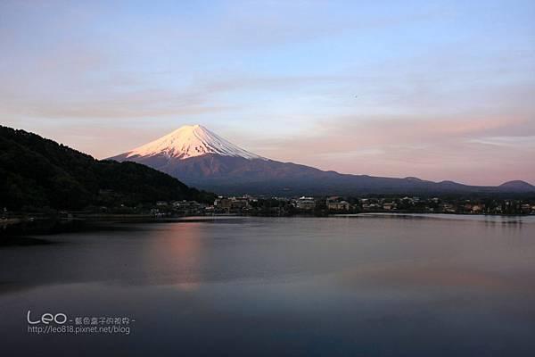 河口湖‧逆富士山 (8)