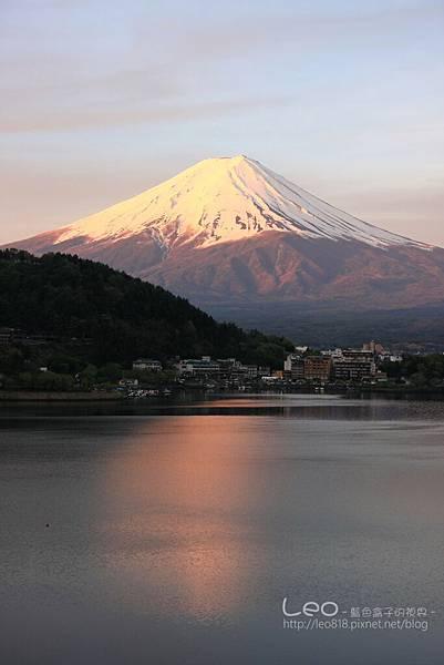 河口湖‧逆富士山 (9)