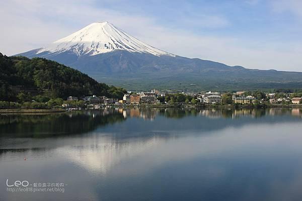 河口湖‧逆富士山 (15)