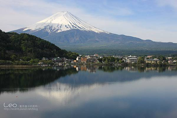 河口湖‧逆富士山 (15-1)
