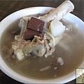 豬頭三 大骨湯(少