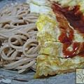 蕎麥麵 蛋蛋麵旁