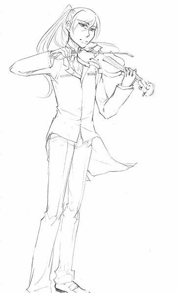 連恩小提琴