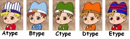 精靈驛站-男孩子5種模樣
