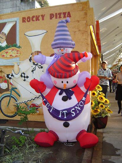雪人娃娃  台灣平地沒辦法堆雪人  哈