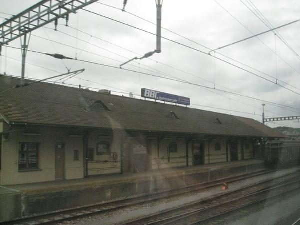 很有古意的車站