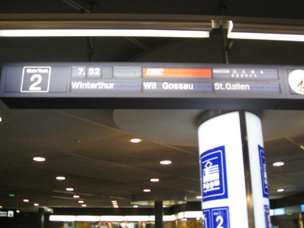 前往聖加侖的班車資訊