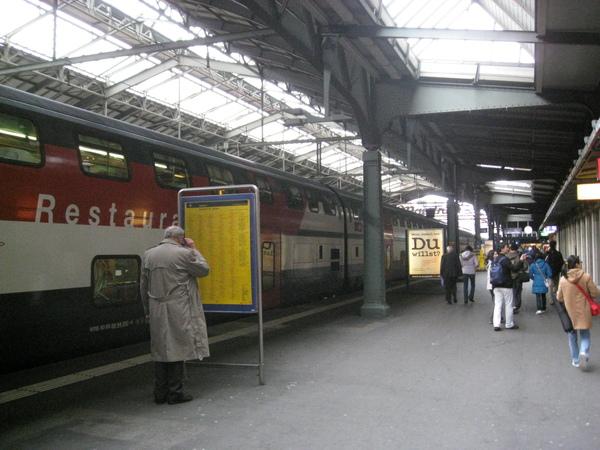 聖加侖車站一覽