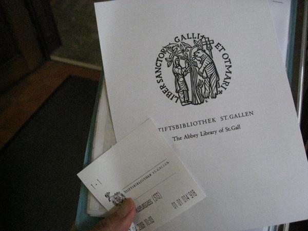 圖書館的門票