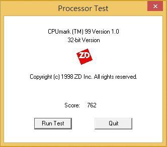 CPU Mark Resulat