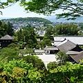 12-9走上瞭望所的小徑可以鳥瞰銀閣寺的全景.JPG