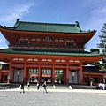 13-17平安神宮的大牌樓.JPG