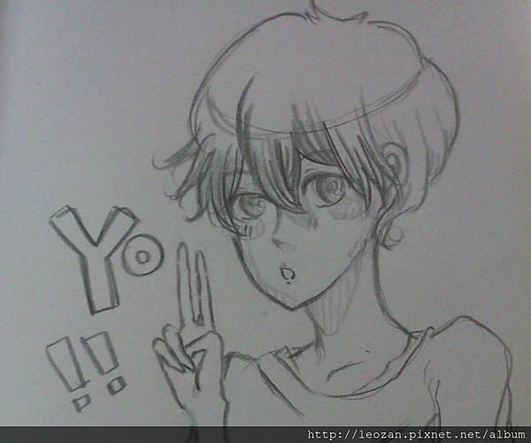 YO男原型