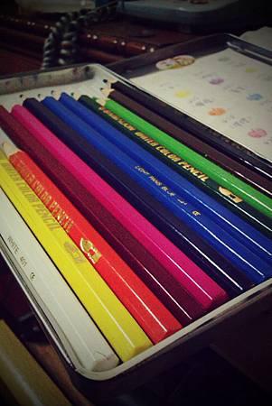 水性色鉛筆